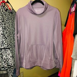 Purple Under Armour Pull Over - Size XL